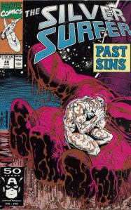 The softer side of Galactus - The Silver Surfer #48