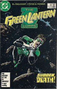 Does she keep a stripper pole around? - The Green Lantern Corps #212