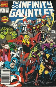 Marvel Universe Carnage (Not the Cletus Kasady variety) - The Infinity Gauntlet #4