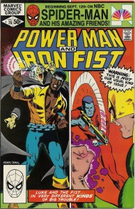 Ain't no kooky bat gonna bite Luke Cage's neck! - Power Man and Iron Fist #76