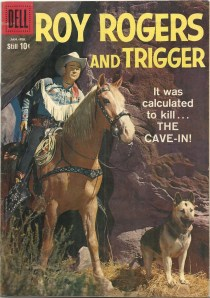 Hi-yo, Silver, aw-....ah, forget it - Roy Rogers and Trigger #129