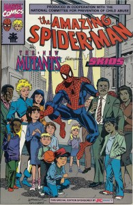 Let's rap with Spidey about child abuse - The Amazing Spider-Man and The New Mutants featuring Skids