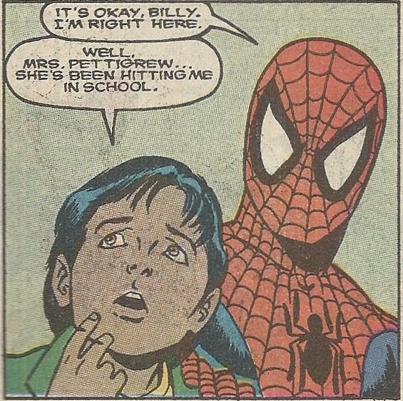 spider man sexually molested