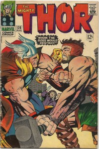 Knock yon braggart's block off! - The Mighty Thor #126