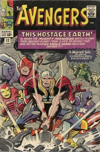 Stand thee back, stalwart fellows, whilst Thor smashes our problems with his mighty hammer! - The Avengers #12