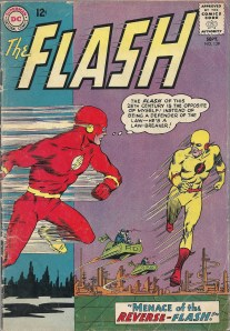 The best lazily crafted costume and name ever - The Flash #139
