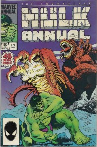 Ladies and gentlemen, let me introduce you to one of my favorite Hulk stories - The Incredible Hulk Annual #13