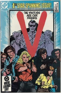 V for...well...V, I guess - V, The Comic Book Series
