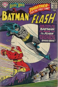 The Flash! Batman! Infantino! Together! I'm in hog heaven! - The Brave and the Bold #67