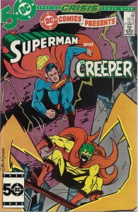 My first and most recent encounters with DC's laughing maniac (no, not the Joker)- DC Comics Presents #88 & Beware the Creeper #5