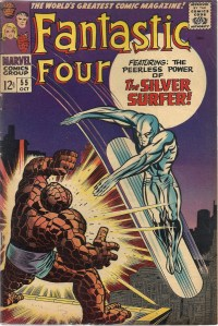 The peerless paroxysm of pulsating pounding power... - Fantastic Four #55