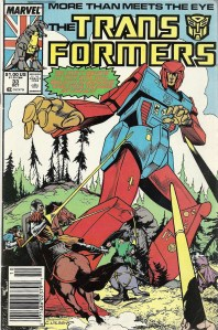 A story that's more than meets the eye, Part 1 of 2 - The Transformers #33