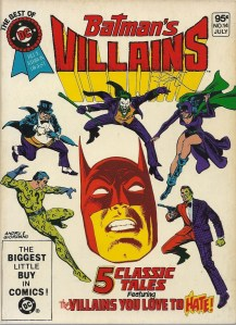 "A rogues gallery in brief - The Best of DC Blue Ribbon Digest #14, ""Batman's Villains"""