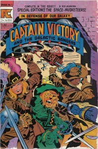 From the depths of Jack Kirby's D-List - Captain Victory and the Galactic Rangers Special #1