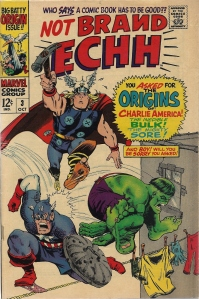 Silver Age humor, such as it was - Not Brand Echh #3