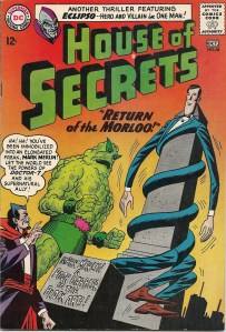Perhaps Mr. Fantastic and Plastic Man have a support group that he can join - House of Secrets #68