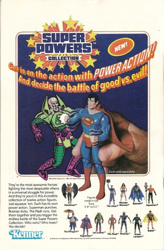 That is NOT what I imagine Superman sounding like - Super Powers Toys and Record