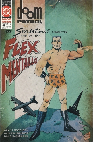 The Fabulous Copyright Infringing Origin of Flex Mentallo - Doom Patrol #42