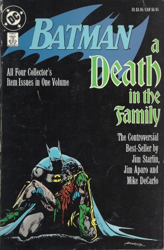 Jim Aparo's Batman Rules (and Other Affiliated Observations) - Batman: A Death in the Family