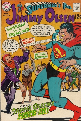 I hate hippies, Part 2 of 2 - Superman's Pal Jimmy Olsen #118