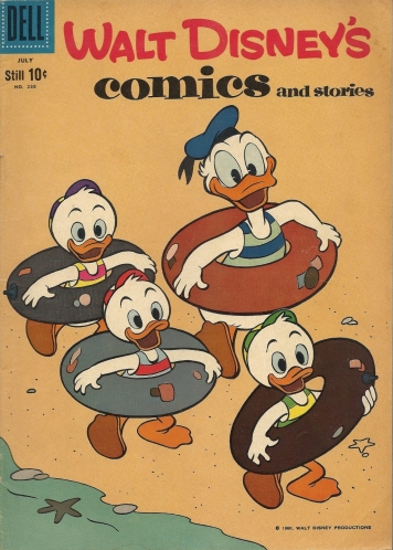 A Duck and a Gentleman - Walt Disney's Comics and Stories #238
