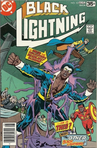 Always bet on Lightning - Black Lightning #10