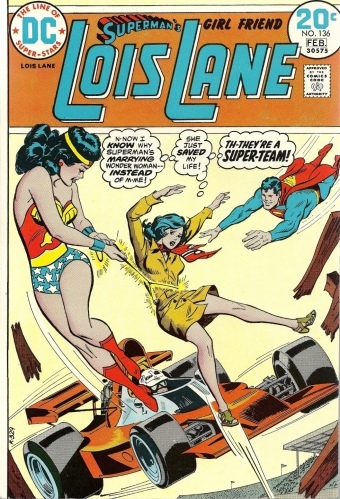 The Amazon. Always choose the Amazon. - Superman's Girl Friend Lois Lane #136