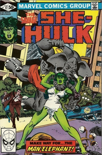 Man-iphant? Ele-man-t? - The Savage She-Hulk #17