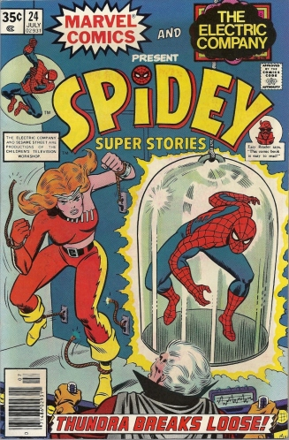 Dumbed down? Accessible for kids? Both? You be the judge. - Spidey Super Stories #24