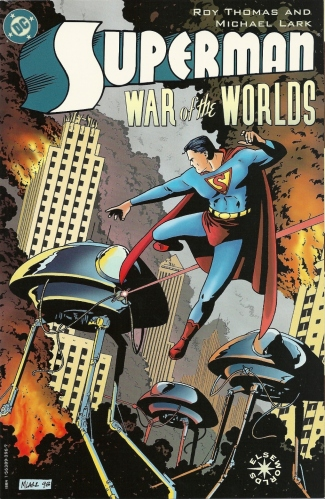 Place H.G. Wells in bowl. Stir in Kryptonian. Bake. Serve. - Superman: War of the Worlds