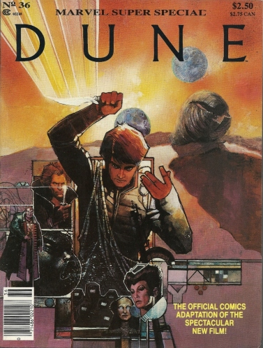 "The spice must flow - Marvel Super Special #36, ""Dune"""
