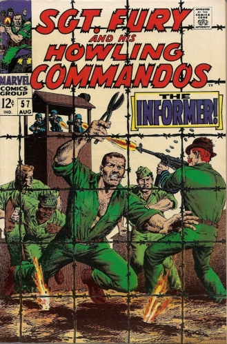 Thank heavens the Nazis kept him in cigars - Sgt. Fury and His Howling Commandos #57
