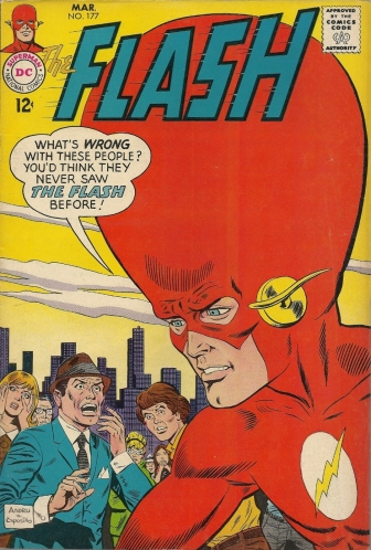 Head! Pants! Now! - The Flash #177