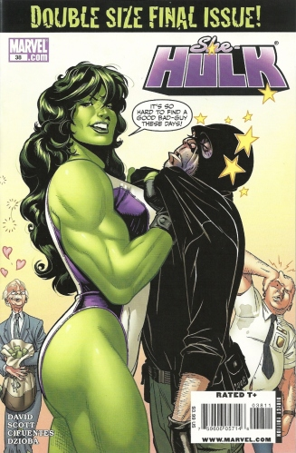 The return of the Maniphant. Or Elemant. Or Man-Elephant. Whatever. - She-Hulk #38