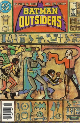 Walk like an Egyptian - Batman and the Outsiders #17