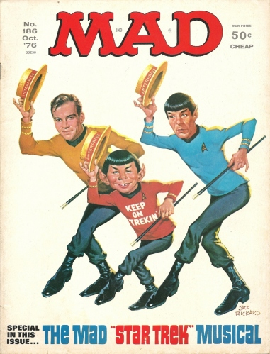 It's a Mad, Mad, Mad, Mad Month, Part 4 - Mad #186 (The Star Trek Musical)