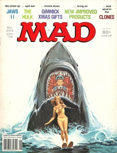 It's a Mad, Mad, Mad, Mad Month, Part 2 - Mad #204 (The Incredible Hulk)