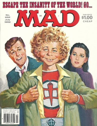It's a Mad, Mad, Mad, Mad Month, Part 3 - Mad #232 (The Greatest American Hero)