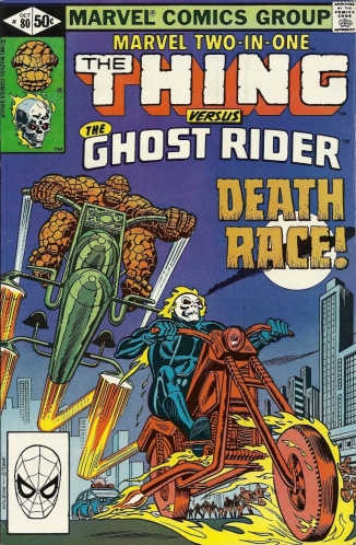 Ghost Riders in the sky (An Ever-Lovin' October Preview) - Marvel Two-In-One #80