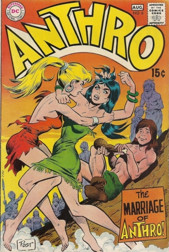 If watching two hot prehistoric babes lock limbs and wrestle is wrong, THEN I DON'T WANT TO BE RIGHT - Anthro #6
