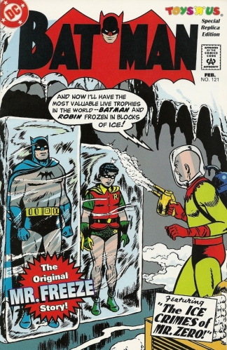 Free Freeze - Batman #121 (Toys 'R' Us Special Replica Edition)