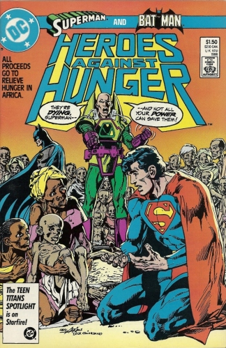 We Are the World: The Comic Book - Heroes Against Hunger