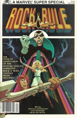 "The comic that SENDS LOVE THROUGH - Marvel Super Special #25, ""Rock & Rule"""