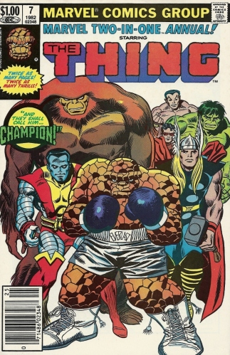 Let's get it on! (An Ever-Lovin' October Begins) - Marvel Two-In-One Annual #7