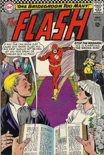 She's a nagging bitch. There's one reason this couple should not be wed. - The Flash #165