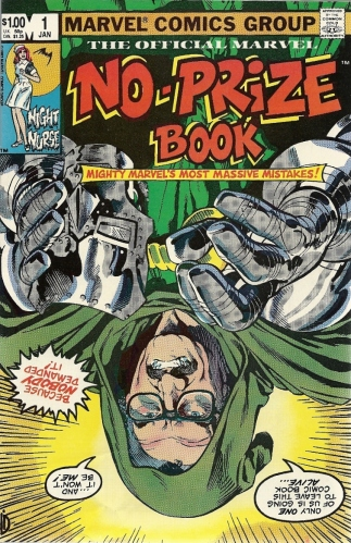 The Mighty Marvel Blooper Reel - The Marvel No-Prize Book #1