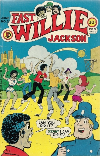 """Can you dig Black Archie?"" No. No I cannot. (Black History Month Begins) - Fast Willie Jackson #5"
