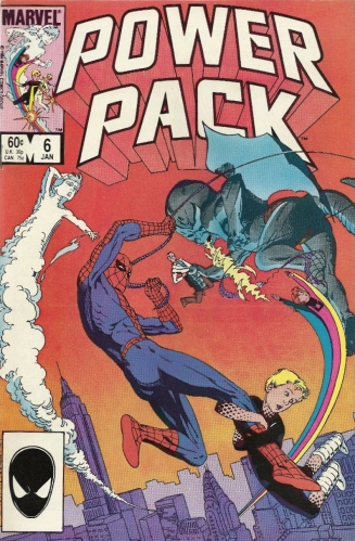 Now listen to Spider-Man, you superpowered little brats. He speaks from experience. - Power Pack #6