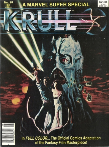 "Let's kick this Marvel Super Special March off with a Glaive - Marvel Super Special #28, ""Krull"""