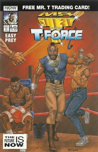 Drink your school, stay in drugs, and don't do milk! - Mr. T and the T Force #6